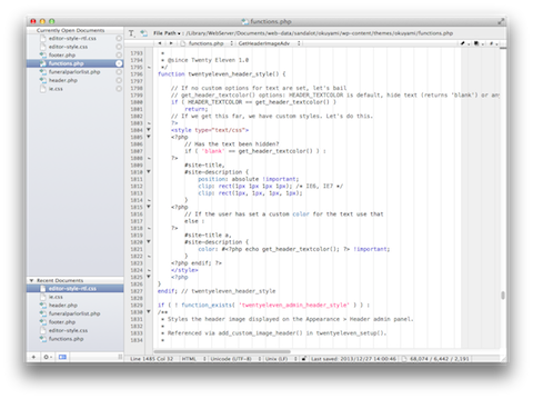 screenshot_textwrangler